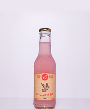 Amvyx Three Cents Pink Grapefruit Soda