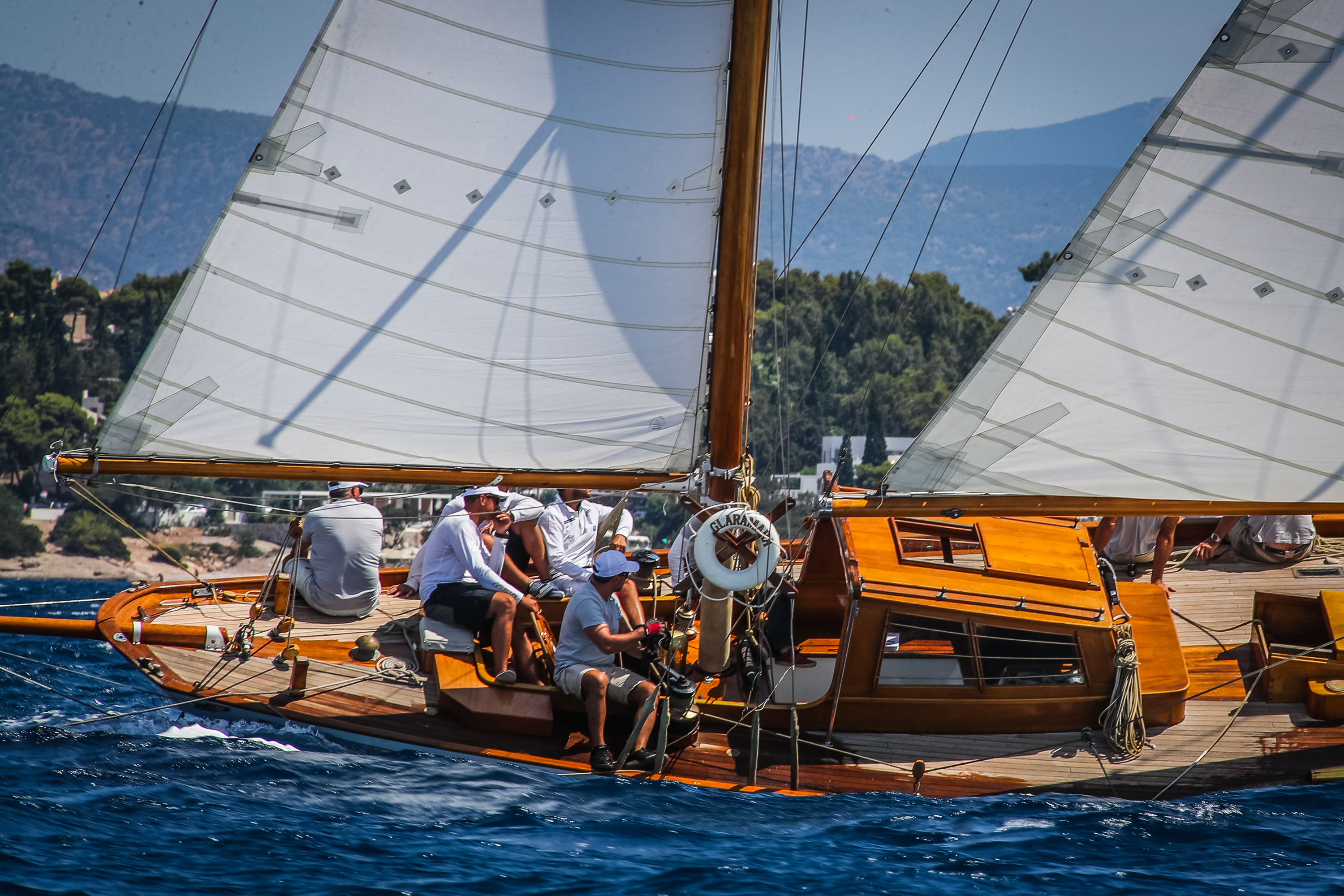 Amvyx The 9th Spetses Classic Yacht Regatta went for the gold!