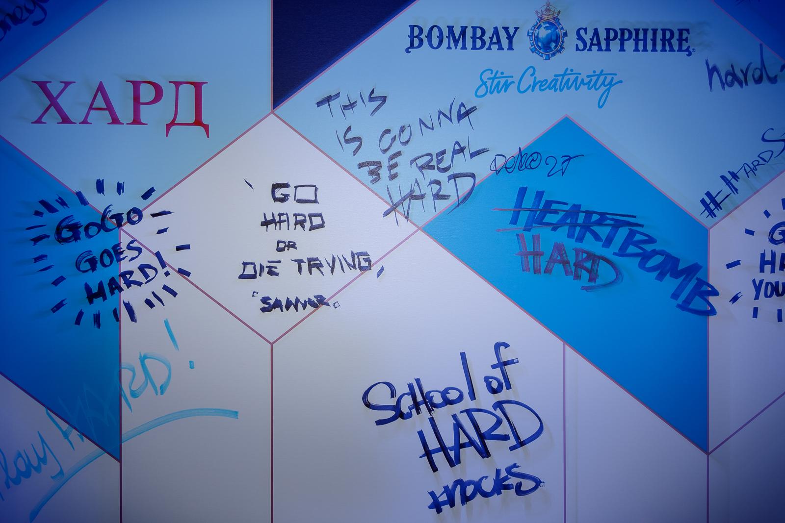 Amvyx Hard Clo celebrates 1 year with Bombay Sapphire