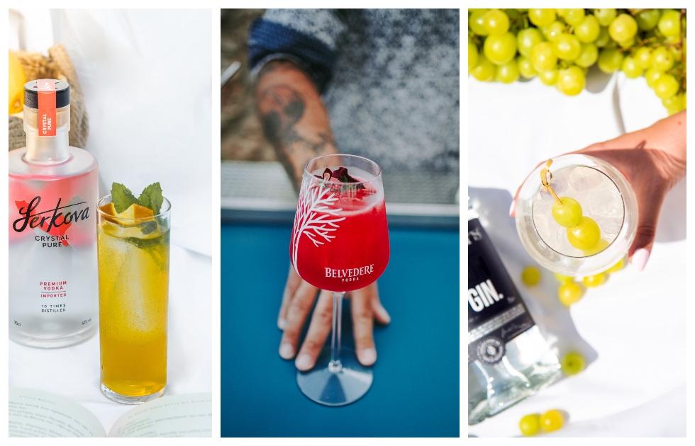 Amvyx 4+1 συνταγές cocktail για νότες δροσιάς και απόλαυσης!