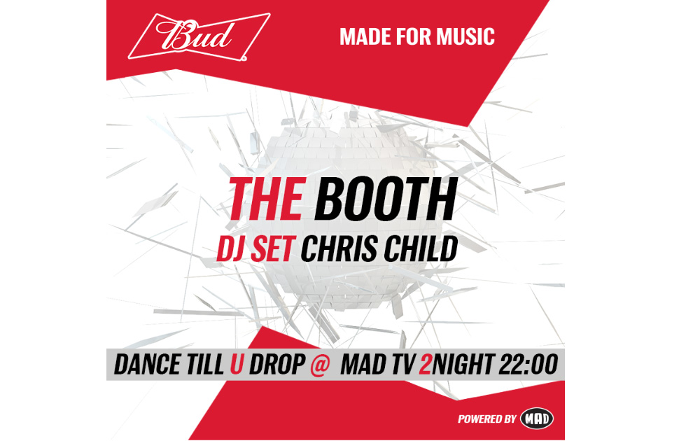 Amvyx Bud Made For Music  // The Booth with Dj Chris Child