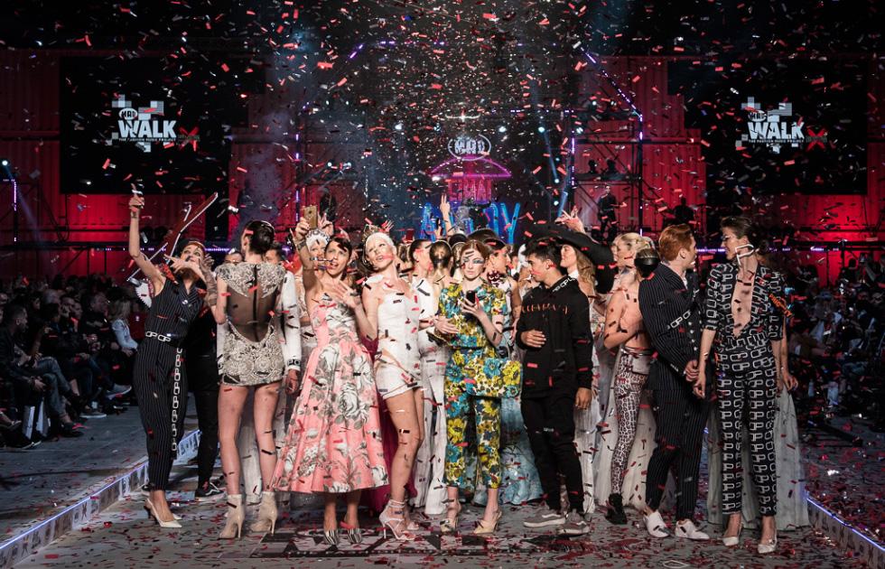 Amvyx MadWalk 2018 by Serkova The Fashion Music Project