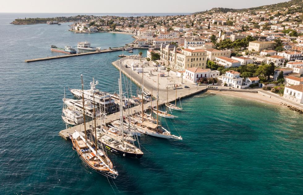 Amvyx Spetses Classic Yacht Regatta 2018