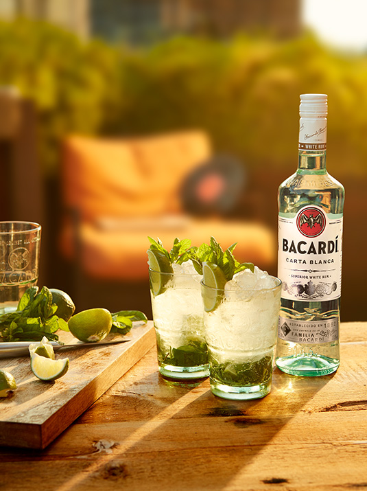Amvyx Bacardi Carta Blanca The Perfect Mojito