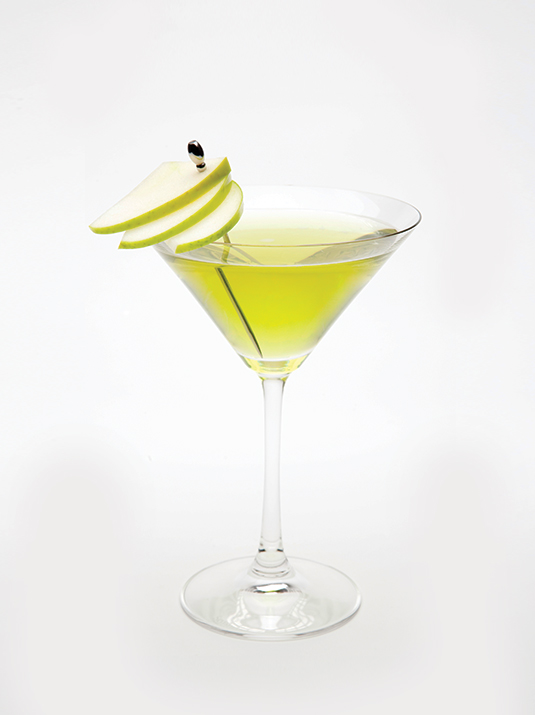 Amvyx Marie Brizard green apple syrup Apple martini