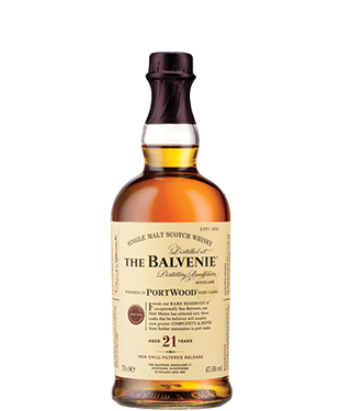 Amvyx THE BALVENIE 21 YEARS OLD PORTWOOD