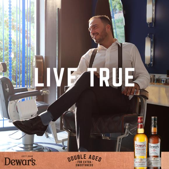 Amvyx LIVE TRUE stories by Dewar's