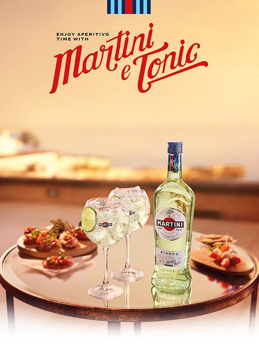 Amvyx Martini Bianco Martini & Tonic